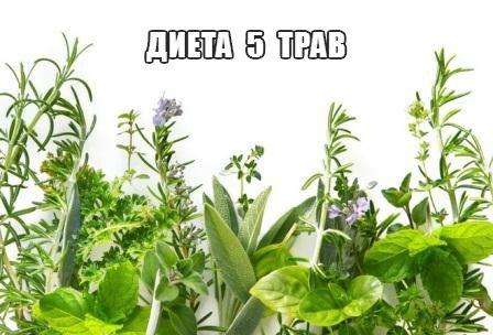 Диета «5 трав»